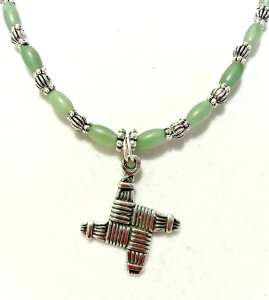 St Brigid's Cross Necklace