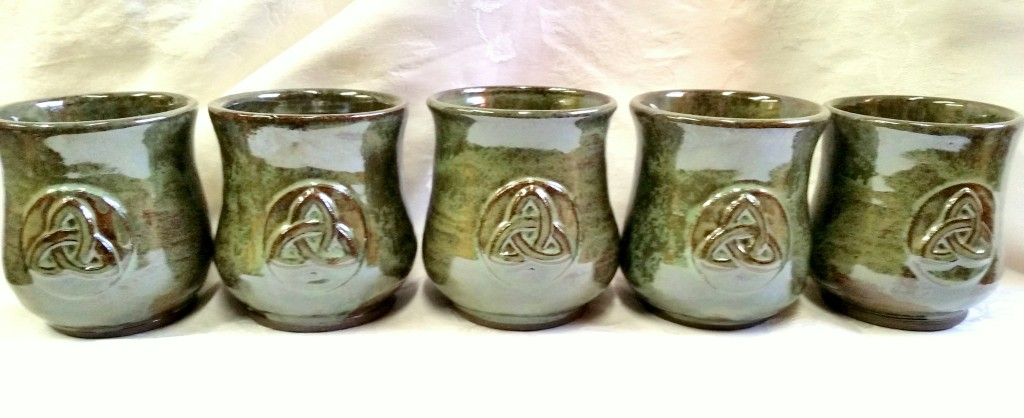 Cetlic Mead Mugs Trinity Design